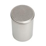 Image de Boîte en métal cylindrique ø 90mm x 160mm avec coiffant