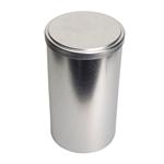 Image de Boîte en  métal cylindrique ø 110mm x 200mm avec coiffant