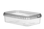 Image de TPR Pot rectangulaire 750ml avec fermeture de sécurité couvercle compris
