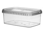 Image de TPR Pot rectangulaire 1200ml avec fermeture de sécurité couvercle compris
