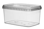 Image de TPR Pot rectangulaire 1600ml avec fermeture de sécurité couvercle compris